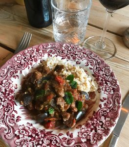 lamb aubergine stew